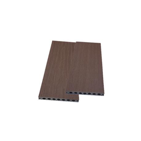 Lame alvéolaire coextrudée en composite réversible – 260 x 14,5 x 2,1 cm – Couleur Ipé