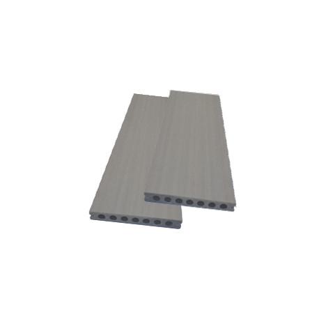 Lame alvéolaire coextrudée en composite réversible– 260 x 14,5 x 2,1 cm – Grège