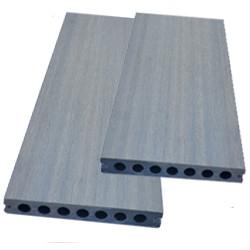 Lame composite alvéolaire coextrudée réversible – 260 x 14,5 x 2,1 cm – Couleur gris