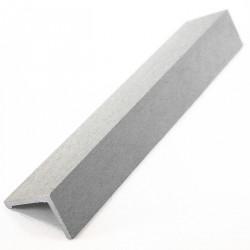 Cornière de finition en composite - 220 x 5 x 4 cm Gris
