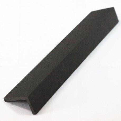 Cornière de finition en composite - 220 x 5 x 4 cm Gris Anthracite