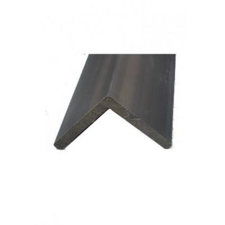 Cornière de finition en composite pour lame alvéolaire coextrudée – 220 x 5,7 x 5,7 cm – Couleur gris