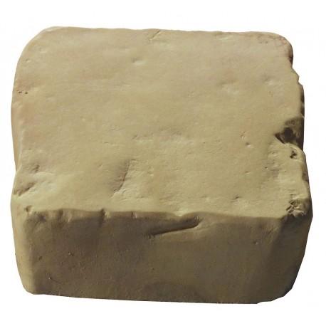 Pavé de terrasse en pierre reconstituée à poser 16 x 16 x 6 cm camel nuancé