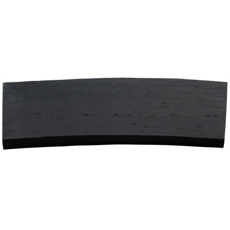 Margelle en pierre reconstituée courbes 46,5 x 25 x 2,5 cm schiste