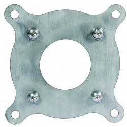 Adaptateur en acier inoxydable pour fontaine en fer