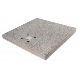 Socle en grain de ciment pour fontaine en fer – 40 x 40 x 5 cm