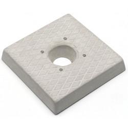 Socle carré en ciment – 30 x 30 x 5 cm