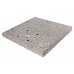 Socle pour fontaine en grain de ciment – 40 x 40 x 5 cm