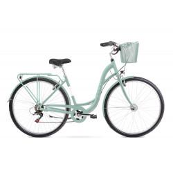 Vélo de ville Sonata Eco - 28 pouces en aluminium 6061 – Menthe – Taille M ou L