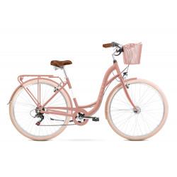 Vélo de ville Sonata Eco - 28 pouces en aluminium 6061 – Rose – Taille M ou L
