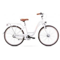 Vélo pour enfant Panda 2 - 24 pouces en aluminium 6061 – Blanc – Taille S