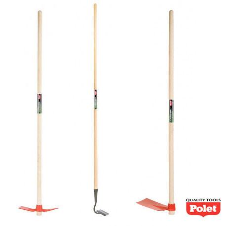 Kit d'outils de jardin spécial entretien du potager – binette, serfouette et houe de jardin - POLET