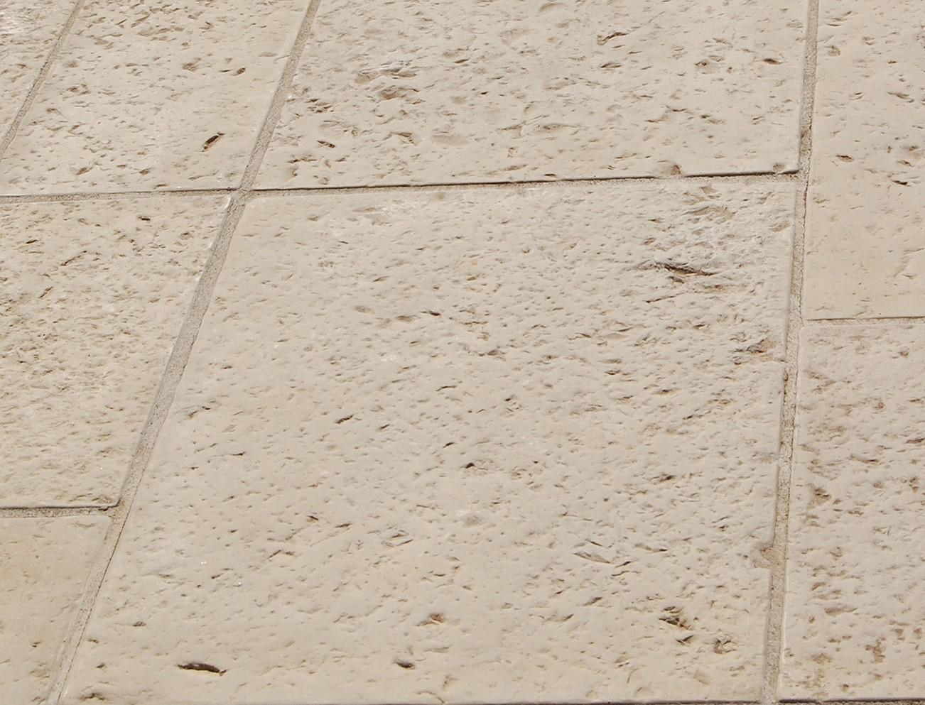Dalle pierre 40x20 4cm blanc - Dalle pierre reconstituee ...