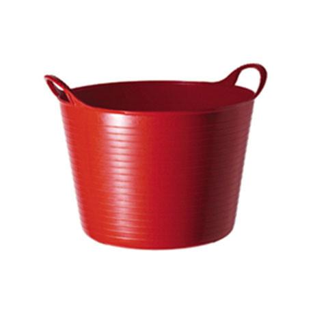 Tubtrug Panier de jardin flexible 42L – Rouge - POLET