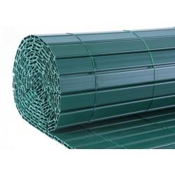 Canisse de jardin en PVC 250 x 120 cm vert