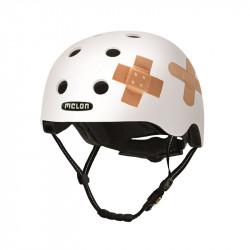 Casque de vélo Melon All Stars - Plastered White – Tailles M/L - XL/XXL – XXS/S