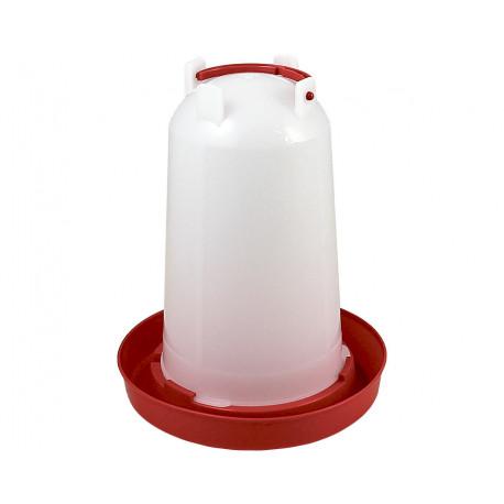 Abreuvoir pour volailles en plastique – Contenance 3L – Diamètre 26 cm