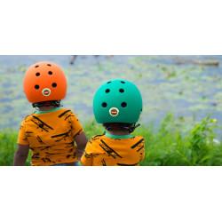 Casque de vélo Melon pour bébés Toddler Rainbow – Déclinable en 7 couleurs