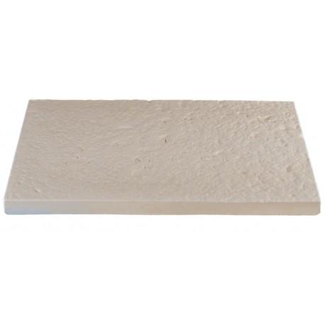 DALLES BOURGOGNE 40x60x4 BLANC