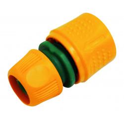 Raccord rapide auto-serrant pour tuyau Ø 13 ou Ø 15 mm