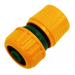 Raccord rapide auto-serrant pour tuyau Ø 19 mm