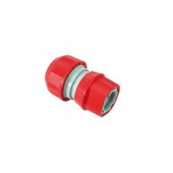 Raccord d'arrosage rapide auto-serrant pour tuyau d'arrosage de 13 ou 15 mm de diamètre
