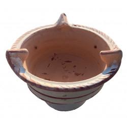 Brasero en terre cuite 27 cm sans armature - H 19,5 cm