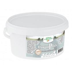 Coquilles d'huîtres concassées pour poules pondeuses CoquiPlus – 2,5 kg