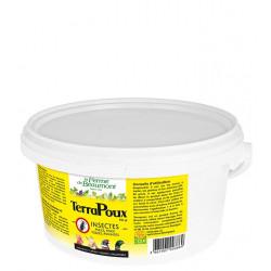 Poudre insecticide naturelle TerraPoux à base de terre de diatomée – 750 g
