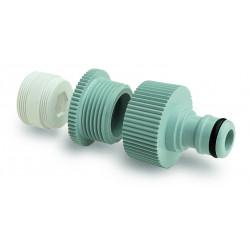 Nez de robinet 3/4ʺ Femelle avec coupleur et réduction de filetage