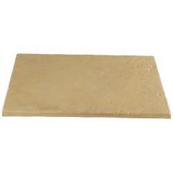 Dalle de terrasse en pierre reconstituée ep. 4 cm Camel Nuancé, module de 1,15 m2
