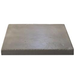 Dalle de terrasse en pierre reconstituée ep. 4 cm gris clair, module de 1,15 m2