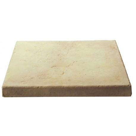 Dalle de terrasse en pierre reconstituée ep. 4 cm Ocre Nuancé, module de 1,15 m2