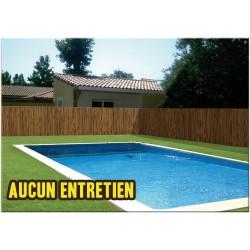 Brande de bruyère de jardin en PVC 300 x 100 cm