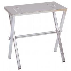 TABLE POUR FUMOIR EN ACIER 28x44
