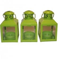 Lot de 3 lanternes