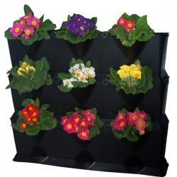 Jardinière plastique Pour Mur Végétal Mini-Garden Noir