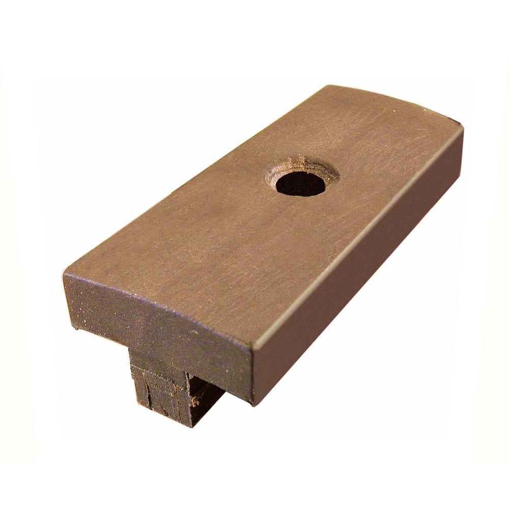 clips de fixation en bois composite marron 5 x 2 3 x 1 5 cm. Black Bedroom Furniture Sets. Home Design Ideas