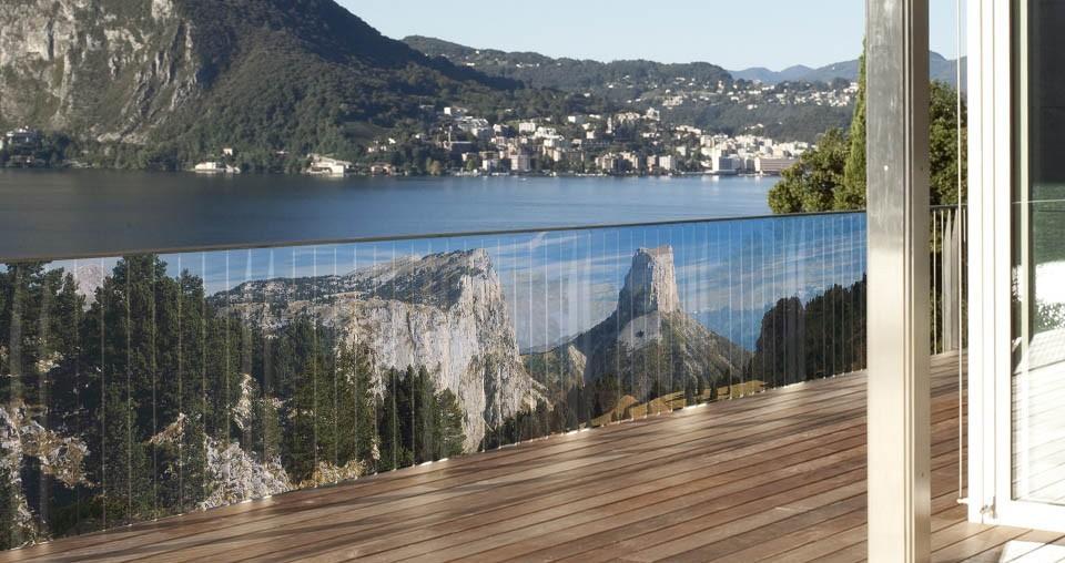brise vue en toile pour balcon terrasse et jardin mont aiguille 0 80 x 3 ml. Black Bedroom Furniture Sets. Home Design Ideas