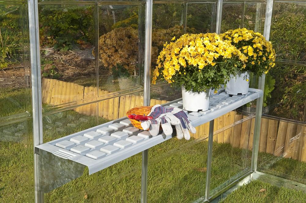 Etagères plastique pour serre jardin