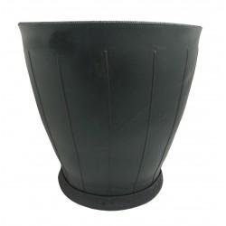 Jardinière en caoutchouc recyclé ronde 25 x 25 x 30 cm