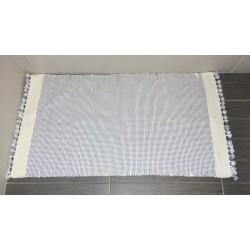 Tapis de salle de bains 90 x 50 cm