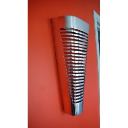Applique murale design conique en aluminium 45 x 21 cm