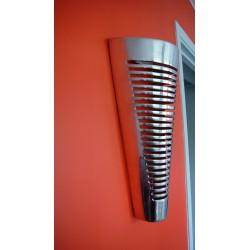 Applique murale conique ronde en aluminium