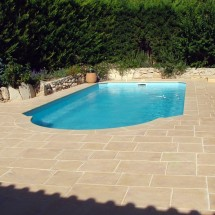 Dalle pour terrasse et jardin - Dalle terrasse pierre reconstituee ...