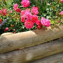 Bordure terrasse et jardin for Fabriquer une bordure de jardin