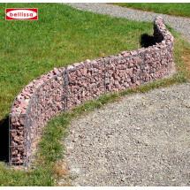 Murets de terrasse acier