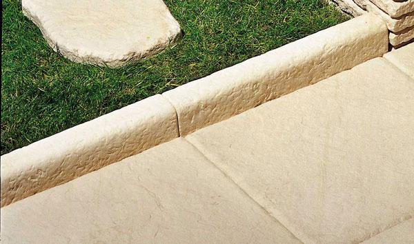 bordure pierre reconstituée