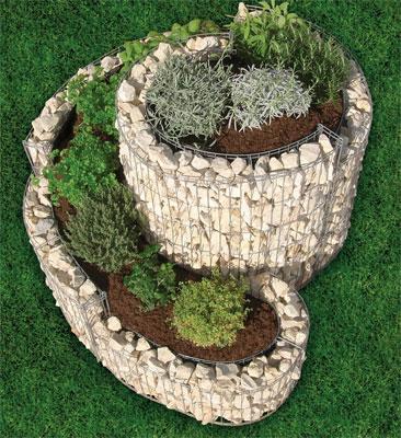 gabion jardiniere