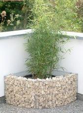 Jardinière acier